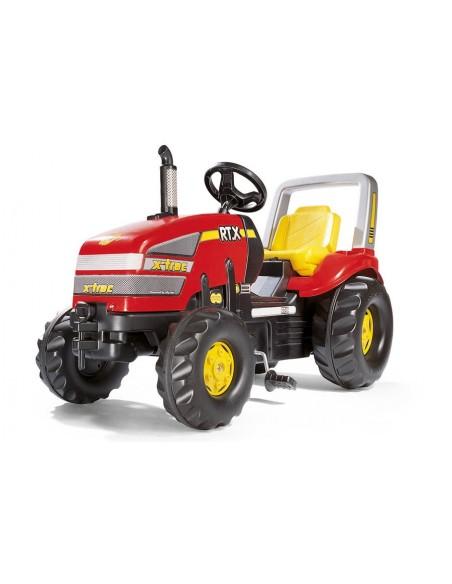 Tractor Cu Pedale Copii ROLLY TOYS 035557 Rosu - imaginea 1