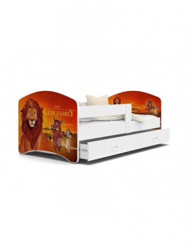 Patut Tineret MyKids Lucky 52 Lion Family-140x80 - imaginea 1